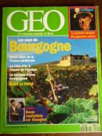 Géo N°175: Les Pays De Bourgogne/ Septembre 1993 - Geography