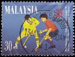 MALAYSIA - Scott #610 The 16th Commonwealth Games - Kuala Lumpur, Malaysia / Used Stamp - Malaysia (1964-...)