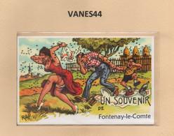 85-CPSM FONTENAY-LE-COMTE - Fontenay Le Comte
