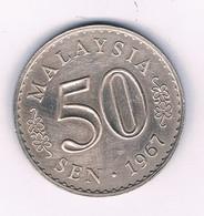 50 SEN 1967  MALEISIE /8691// - Malaysie