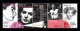 Ireland 2020 Mih. 2354/58 Pioneering Irish Women. Fashion. Cinema. Aviation. Sport. Olympic Games. Painting MNH ** - Nuevos