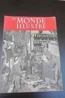 """Le Monde Illustré Palestine  Israël 1948 """" La Mort S'achète Au Bazar"""" - Documents"""