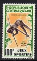 Centrafricaine P. A. N° 6 X Jeux Sportifs Africains  Trace De Charnière Sinon TB - Centrafricaine (République)