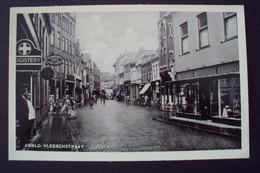 Nederland Venlo Vleeschstraat 1941 Volk  Cafe  Auto - Venlo