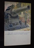 Italia Cartolina Postale Italiana In Franchigia Illustrator Finozzi / Annullata WW1 - Guerra 1914-18