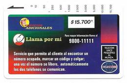 Colombia Tamura Used Phone Card, No Value, Collectors Item, # Colombia-3 - Kolumbien