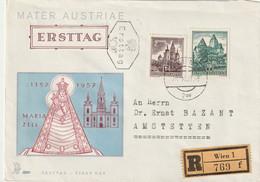 Oesterreich / 1957 / Mi. 1037/1038 FDC (C012) - FDC