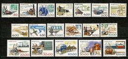 Portugal, 1978/83, # 1358/68, 1370/1, 1374/8, MH - Nuevos