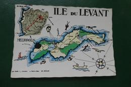B 1 / ILE DU LEVANT  LES ILES D OR VAR  ECRITE EN 1966 - Non Classificati