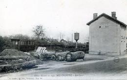 CPA 79 MENIGOUTE La Gare - Ohne Zuordnung