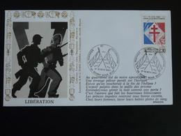Lettre Commemorative Cover Guerres Et Occupations Libération De Rosny Sous Bois 93 Seine St-Denis 1990 - WW2 (II Guerra Mundial)