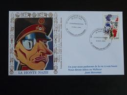 Lettre Commemorative Cover Caricature De Nazi Libération De Cormeilles En Parisis 95 Val D'Oise 2004 - WW2 (II Guerra Mundial)