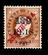 ! ! Angola - 1915 D. Luis 130 R - Af. 181 - No Gum - Angola