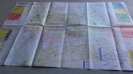 CARTE  PLAN DE LA VILLE DE PEKIN / CHINE - Carte Geographique