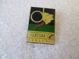 PIN'S   FRANCE TELECOM   YVELINES - France Telecom