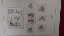 G219 Reliure LEUCHTTURM Vide De France De 2000 à 2003. PORT 13.75 OFFERT Pour La France. Saisir !!! - Collections (en Albums)