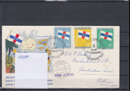 Niederländische Antillen Michel Cat.No. FDC 99/101 - Antille