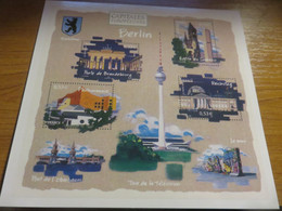 Carte Entier Postal Capitale Européenne BERLIN - Standard Postcards & Stamped On Demand (before 1995)