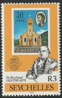 SEYCHELLES - Sir Rowland Hill  (église En Cascade) - Rowland Hill