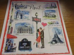 Carte Entier Postal Capitale Européenne PARIS - Postales Tipos Y (antes De 1995)