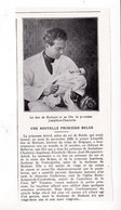 """1927 Nouvelle Princesse Belge """"Joséphine-Charlotte"""" Fille Du Prince Léopold,duc De Brabant Et De La Princesse Astrid TBE - Non Classificati"""