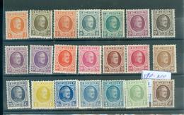 190-210 Xx    Côte 475 € - 1922-1927 Houyoux