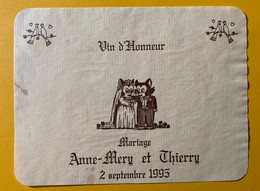 16514 - 2 Septembre 1995 Mariage Anne-Mery & Thierry Chats - Andere