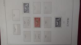 G222 Reliure LEUCHTTURM De France De 1849 à 1945 Avec Bonnes Valeurs ** Et FDC**. A Saisir !!! - Collections (en Albums)