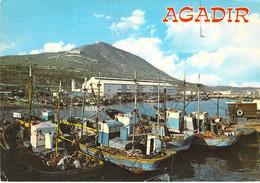 Agadir - Vue Panoramique Du Port - Agadir