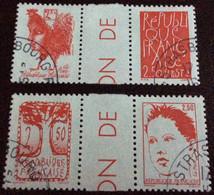 TIMBRES   DE    FRANCE   N° 2772A  ET  2774A         OBLITÉRÉS  ( LOT: 4416  ) - Used Stamps