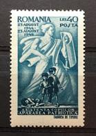 (7082) ROMANIA 1945 : Sc# RA32 POSTAL TAX STAMP PROTECTION HOMELESS CHILDREN - MNH VF - Strafport