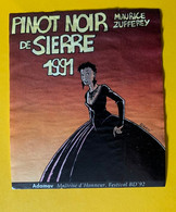 16526 - Pinot Noir De Sierre 1991 Adamov Maitrise D'honneur BD Sierre 92 - Stripverhalen