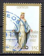 PANAMA. N°896 Oblitéré De 1981. Vierge à La Médaille Miraculeuse. - Christianity