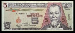 # # # Banknote Aus Guatemala 5 Quetzales 1983 # # # - Guatemala