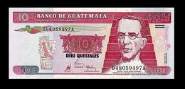 # # # Banknote Aus Guatemala 10 Quetzales 1990 # # # - Guatemala