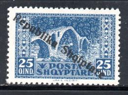 ALBANIE - NEUF * - YT 155- COTE 2.30 € - Albanie