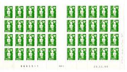 Marianne De Briat Lettre D (vert) Neuf - 1990-1999