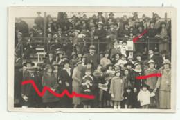NIORT Carte Photo 29 Septembre 1924 TRIBUNE  SOCIETAIRES COURSES HIPPODROME Voir Etat - Niort