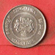 SINGAPORE 10 CENTS 1985 -    KM# 51 - (Nº38549) - Singapore