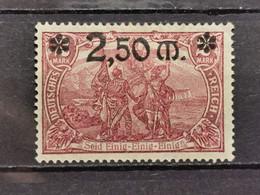 Deutsche Reich Mi-Nr. 118 C **MH Postfrisch Mit Falz Signiert - Ungebraucht