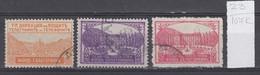 107K23 / Bulgaria 1927 Michel Nr. 5-7 Used ( O ) Zwangszuschlagsmarken  Postal Tax Stamps Fund Sanatorium Bulgarie - 1909-45 Kingdom