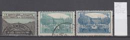 107K25 / Bulgaria 1925 Michel Nr. 1-3 Used ( O ) Zwangszuschlagsmarken  Postal Tax Stamps Fund Sanatorium Bulgarie - 1909-45 Kingdom
