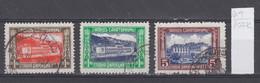 107K64 / Bulgaria 1935 Michel Nr. 13-15 Used ( O ) Zwangszuschlagsmarken  Postal Tax Stamps Fund Sanatorium Bulgarie - 1909-45 Kingdom