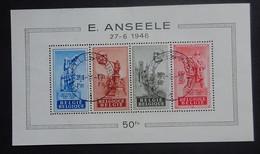 BELGIE 1948     BLOK  26    'Anseele'     Gestempeld     CW  95,00 - Blocks & Sheetlets 1924-1960