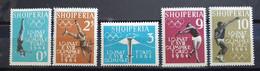 """Albanien 1962, Mi 657-61 """"Olympia"""" MNH Postfrisch - Albanie"""