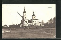 AK Janowo, Kirchenansicht - Russland