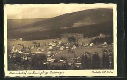 AK Harrachsdorf Im Riesengebirge / Sudetengau, Ortsansicht - Czech Republic