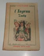 L'ingénu - Zadig : Le Monde Comme Il Va/La Sagesse Humaine - Books, Magazines, Comics