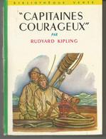 CAPITAINES COURAGEUX Par RUDYARD KIPLING   - Bibliothèque Verte N° 65 - - 1959 - Biblioteca Verde