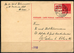 1203) MiNr.: P 193 Nach Opladen - Interi Postali
